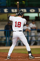 24 September 2009: Ike Davis of Team USA is seen at bat during the 2009 Baseball World Cup final round match won 5-3 by Team USA over Cuba, in Nettuno, Italy.