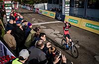 victory for Yara Kastelijn (NED/777)<br /> <br /> Womens Race<br /> 42nd Superprestige cyclocross Gavere 2019<br /> <br /> ©kramon