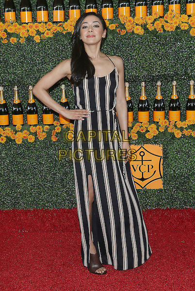 17 October 2015 - Pacific Palisades, California - Aimee Garcia. Sixth-Annual Veuve Clicquot Polo Classic, Los Angeles held at Will Rogers State Historic Park. <br /> CAP/ADM/FS<br /> &copy;FS/ADM/Capital Pictures