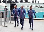 07.08.2019 FC Midtjylland and Rangers pressers: Alfredo Morelos, Glen Kamara and Jermain Defoe