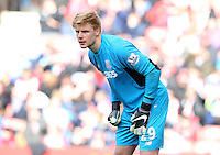 Stoke City's Jakob Haugaard during the Barclays Premier League match between Stoke City and Swansea City played at Britannia Stadium, Stoke on April 2nd 2016