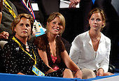 New York, NY - August  30, 2004 --  Jenna Bush, center, and Barbara Bush, right, twin daughters of United States President George W. Bush with their aunt Dorothy, right at  the 2004 Republican National Convention in New York City..Credit: Ron Sachs / CNP  .(RESTRICTION: No New York Metro or other Newspapers within a 75 mile radius of New York City)