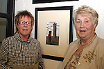 Mary Reynolds and Eric's mother Bridie O'Neill at the Launch of Eric O'Neill's Photography Exhibition, Callans Narrow West Street...Photo NEWSFILE/Jenny Matthews.(Photo credit should read Jenny Matthews/NEWSFILE)....This Picture has been sent you under the condtions enclosed by:.Newsfile Ltd..The Studio,.Millmount Abbey,.Drogheda,.Co Meath..Ireland..Tel: +353(0)41-9871240.Fax: +353(0)41-9871260.GSM: +353(0)86-2500958.email: pictures@newsfile.ie.www.newsfile.ie.FTP: 193.120.102.198.