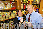 In Training: Michelle McSweeney and Der O'Sullivan, The Mall Tavern, Tralee, at the launch of Off-Licence Training Programme.   Copyright Kerry's Eye 2008