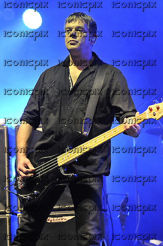 THE STRANGLERS - vocalist and bassist Jean Jacques Burnell - performing live on Day One at the Hop Farm Festival held in Paddock Wood Kent UK - 29 Jun 2012.  Photo credit: George Chin/IconicPix