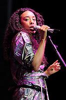 JUN 20 Corinne Bailey Rae performing at Hampton Court Palace