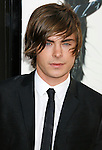 """HOLLYWOOD, CA. - April 14: Zac Efron arrives at the premiere of Warner Bros. """"17 Again"""" held at Grauman's Chinese Theatre on April 14, 2009 in Hollywood, California."""