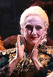 Carol Kane  during the 10th Anniversary on Broadway Curtain Call for 'Wicked'  at the Gershwin Theatre on October 30, 2013  in New York City.
