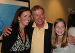"""OLTL's Jerry verDorn """"Clint Buchanan"""" poses with fans at the One Life To Live Fan Club Luncheon on August 16, 2008 at the New York Marriott Marquis, New York, New York.  (Photo by Sue Coflin/Max Photos)"""