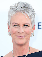 LOS ANGELES, CA, USA - OCTOBER 11: Jamie Lee Curtis arrives at the Children's Hospital Los Angeles' Gala Noche De Ninos 2014 held at the L.A. Live Event Deck on October 11, 2014 in Los Angeles, California, United States. (Photo by Xavier Collin/Celebrity Monitor)