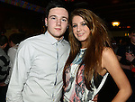 Anthony Naylor and Lauren Hughes pictured at Adam Garbutt and Alan Morris 18th birthdays in Sarsfields. Photo:Colin Bell/pressphotos.ie