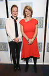 Jennifer Ehle and Mona Juul attend the Opening Night Performance press reception for the Lincoln Center Theater production of 'Oslo' at the Vivian Beaumont Theater on April 13, 2017 in New York City.