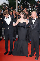 "Robert Pattinson and Juliet Binoche attending the ""Cosmopolis"" Premiere during the 65th annual International Cannes Film Festival in Cannes, France, 25.05.2012...Credit: Timm/face to face /MediaPunch Inc. ***FOR USA ONLY***"