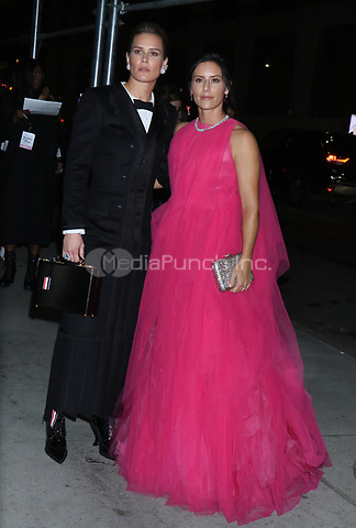 NEW YORK, NY - NOVEMBER 11: Ashlyn Harris and Ali Krieger at the 2019 Glamour Women of the Year Awards at Alice Tully Hal, Lincoln Center in New York City on November 11, 2019. Credit: RW/MediaPunch