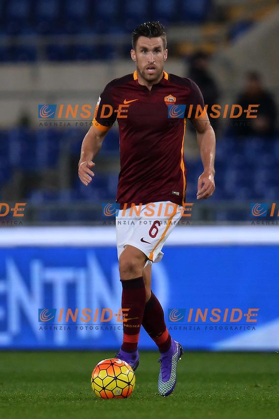 Kevin Strootman Roma <br /> Roma 21-02-2016 Stadio Olimpico, Football Calcio Serie A 2015/2016 AS Roma - Palermo.  Foto Andrea Staccioli / Insidefoto