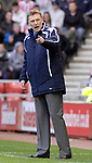 Everton's David Moyes. during the Premier League match at the Stadium of Light, Sunderland. Picture date 9th March 2008. Picture credit should read: Richard Lee/Sportimage