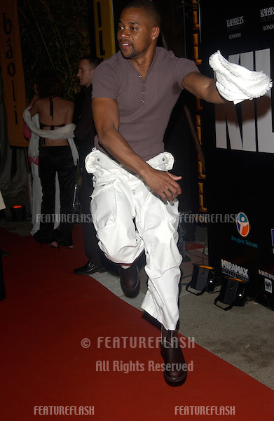 CUBA GOODING JR. at the gala screening & party at the Cannes Film Festival for Kill Bill Volume II, which was screening out of competition..May 16, 2004