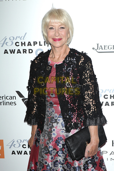 NEW YORK, NEW YORK - APRIL 25: Helen Mirren at the 43rd Annual Chaplin Award Gala at Alice Tully Hall on April 25, 2016 in New York City. <br /> CAP/MPI99<br /> &copy;MPI99/Capital Pictures