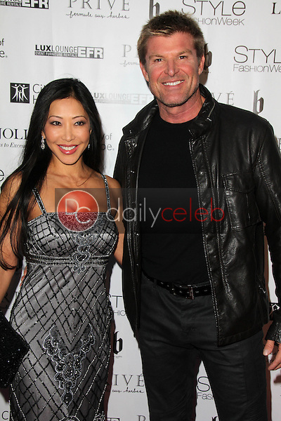 Toni Lee, Winsor Harmon<br /> at Sue Wong's 'Fairies and Sirens' Fashion Show at L.A. Fashion Week. The Reef, Los Angeles, CA 10-15-14<br /> David Edwards/Dailyceleb.com 818-249-4998