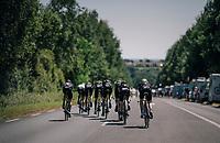 morning course recon with Team Mitchelton-Scott<br /> <br /> Stage 3 (Team Time Trial): Cholet > Cholet (35km)<br /> <br /> 105th Tour de France 2018<br /> ©kramon