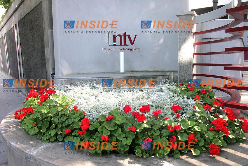 LA SEDE<br /> ROMA 25/05/2010 Presentazione della nuova azienda di servizi per i viaggiatori in treno. La NTV, Nuovo trasporto Viaggiatori.<br /> Photo samantha zucchi Insidefoto