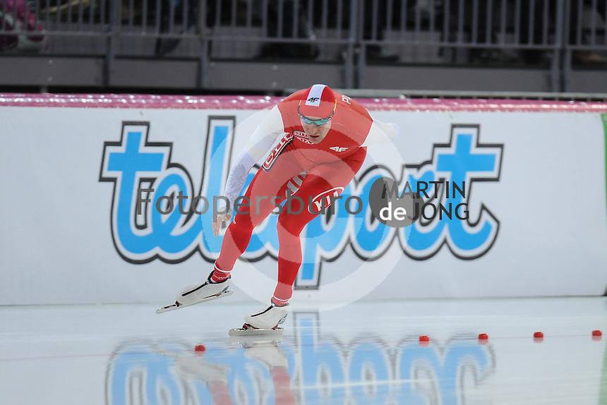SPEED SKATING: HAMAR: Vikingskipet, 04-03-2017, ISU World Championship Allround, 5000m Men, Adrian Wielgat (POL), ©photo Martin de Jong
