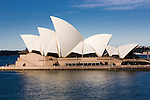 A view of the Sydney Opera House in Sydney, New South Wales, Australia,