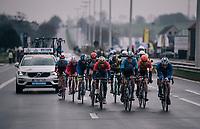 the breakaway group<br /> <br /> 102nd Ronde van Vlaanderen 2018 (1.UWT)<br /> Antwerpen - Oudenaarde (BEL): 265km