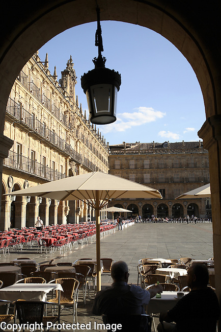 Plaza Mayor Square; Salamanca; Spain