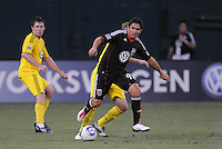 DC United forward Jaime Moreno (99)  The Columbus Crew defeated DC United 1-0 at RFK Stadium, Saturday September 4, 2010.