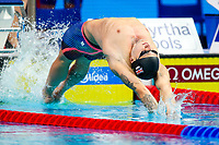 Picture by Rogan Thomson/SWpix.com - 30/07/2017 - Swimming - Fina World Championships 2017 -  Duna Arena, Budapest, Hungary - Chris Walker-Hebborn Swims the 1st leg Great Britain win the Silver Medal in the Final of the Men's 4x100m Medlay Relay.