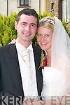 Nadine, daughter of Gabi and Siggi Elpet, Salzgitter, Germany, and Stephen, son of Breda and Joseph Falvey, Gneeveguilla, who were married on Thursday in Church of The Holy Rosary, Gneeveguilla, by Fr Jim Browne. Best man was Joe Falvey and groomsmen were Declan Moore and Wayne Smith. Bridesmaids were Agniezka Kaminska, Janina Sogretski and Marina Seifert. Flowergirl was Isabell Sorge. Pageboy was Dylan Falvey. The reception was held at the Killarney Heights Hotel. The couple will reside in Germany.