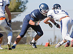 Palos Verdes, CA 09/24/16 - Cade Martin (Chadwick #55) in action during the non-conference CIF 8-Man Football  game between Rolling Hills Prep and Chadwick at Chadwick.