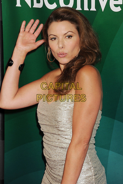 BEVERLY HILLS, CA- JULY 14: Actress Kari Wuhrer attends the 2014 Television Critics Association Summer Press Tour - NBCUniversal - Day 2 held at the Beverly Hilton Hotel on July 14, 2014 in Beverly Hills, California.<br /> CAP/ROT/TM<br /> &copy;Tony Michaels/Roth Stock/Capital Pictures