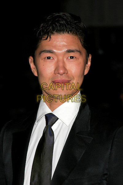 "RICK YUNE .The Royal World Premiere of ""Quantum Of Solace"" at the Odeon Leicester Square, London, England..October 29th 2008.James Bond headshot portrait .CAP/AH.©Adam Houghton/Capital Pictures."