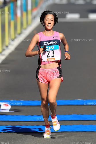 Tomo Morimoto, AUGUST 28, 2011 - Marathon : 2011 Hokkaido Women's Marathon in Hokkaido, Japan. (Photo by YUTAKA/AFLO SPORT) [1040]