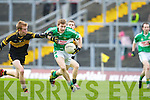 James O'Donoghue breaks through the Crokes defence to score Legion's goal in the club championship final in Fitzgerald Stadium