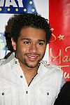 "Corbin Bleu makes a special appearance at the 14th Annual Kids' Night on Broadway 2010  ""Fan Festival"" on February 2, 2010 at Madame Tussauds New York - He is the new star of In the Heights and High School Musical veteran.  (Photo by Sue Coflin/Max Photos)"