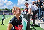 AMSTELVEEN  - Kitty van Male (A'dam) speelde haar laatste officiële hoofdklassewedstrijd. afscheid.   Hoofdklasse hockey dames ,competitie, dames, Amsterdam-Groningen (9-0) .     COPYRIGHT KOEN SUYK