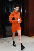 NEW YORK, NY - OCTOBER 8: Bella Hadid  is seen on October 8, 2018 in New York City. <br /> CAP/MPI/DC<br /> &copy;DC/MPI/Capital Pictures