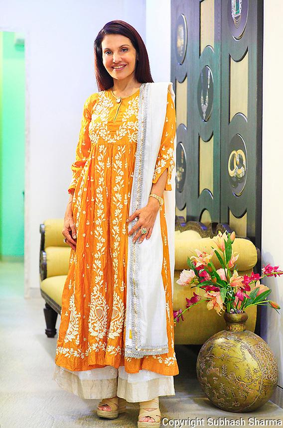 21 Oct 2014 :Mumbai - INDIA.<br /> Customised jewellery designer Poonam Soni at her Jewellery Boutique at Santacruz, Mumbai.