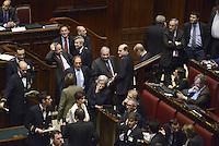 Roma, 19 Aprile 2013.Camera dei Deputati.Votazione del Presidente della Repubblica a camere riunite.Quarto Scrutinio..Bersani, Bindi, Fioroni