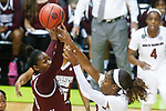 DALLAS, TX - APRIL 2: Mississippi State University takes on the University of South Carolina during the 2017 Women's Final Four at American Airlines Center on April 2, 2017 in Dallas, Texas. (Photo by Timothy Nwachukwu/NCAA Photos via Getty Images)