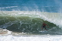 BOBBY MARTINEZ (USA) surfing the Superbank, Coolangatta, Queensland, Australia during Cyclone jasper.  Photo: joliphotos.com