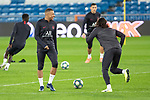 PSG's Players Mbappe during training session. <br /> November 25 ,2019.<br /> (ALTERPHOTOS/David Jar)
