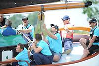 ZEILEN: GROU: 09-07-2016, Pikmeer, SKS Foarwedstriid Grou, ©foto Martin de Jong