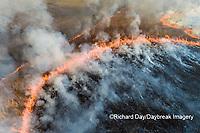 63863-03009 Prescribed Burn by IDNR Prairie Ridge State Natural Area Marion Co. IL
