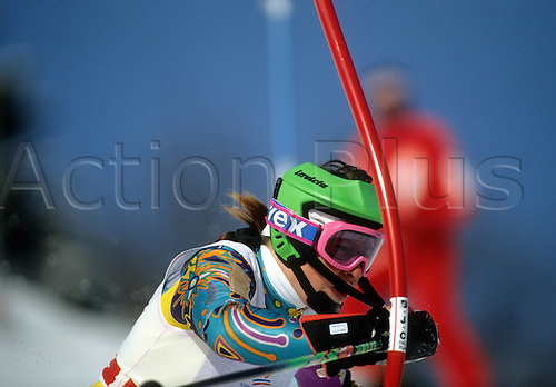 20 02 1992  Participant Slalom Olympic Games 1992  Olympic Games Albertville 1992 Winter Games Ski Alpine Skiing Slalom Val D Isere Disere