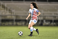 Lakewood Ranch, FL - Wednesday, October 10, 2018:   Sophia Jones during a U-17 USWNT match against Colombia.  The U-17 USWNT defeated Colombia 4-1.