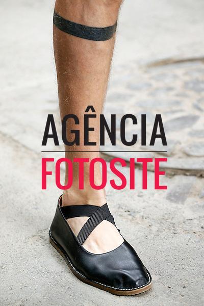 Paris, Franca &ndash; 06/2014 - Desfile de Dries van Noten durante a Semana de moda masculina de Paris - Verao 2015. <br /> Foto: FOTOSITE